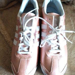 NWOT Adidas Samoa Rose Ortholite  Sneakers 7